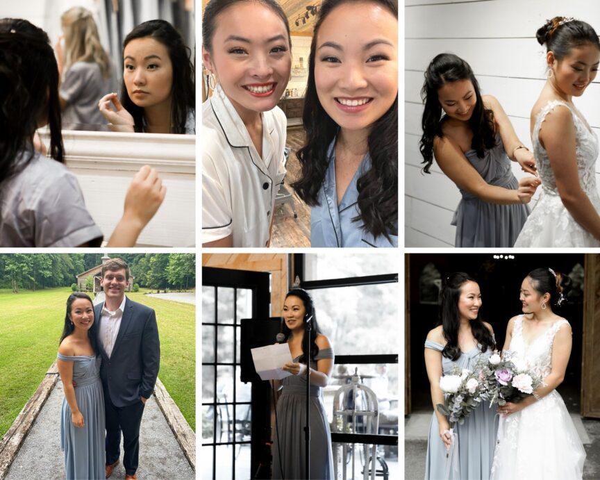 Maid of Honor - Battles Wedding